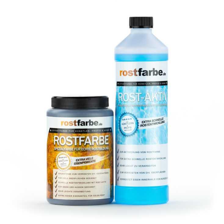 Rostfarbe Set 2x 1000ml