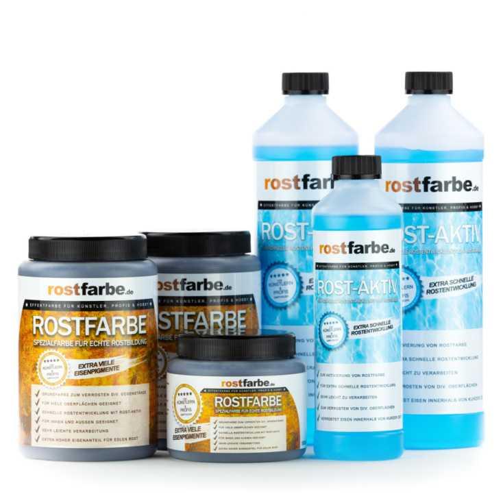 Rostfarbe Set 2x 2,5L XXL